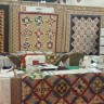 Our Booth at Houston International Quilt Market