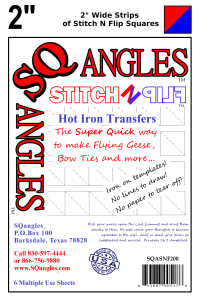 Stitch N Flip - SQangles Newest Product!